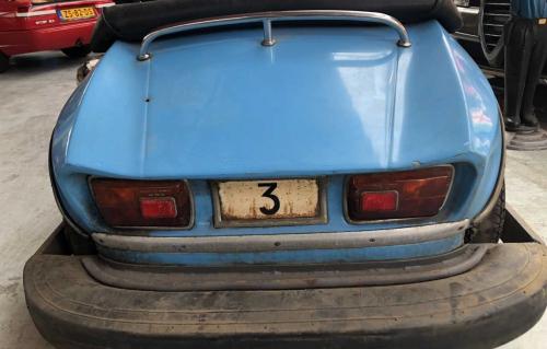 achterkant botsauto